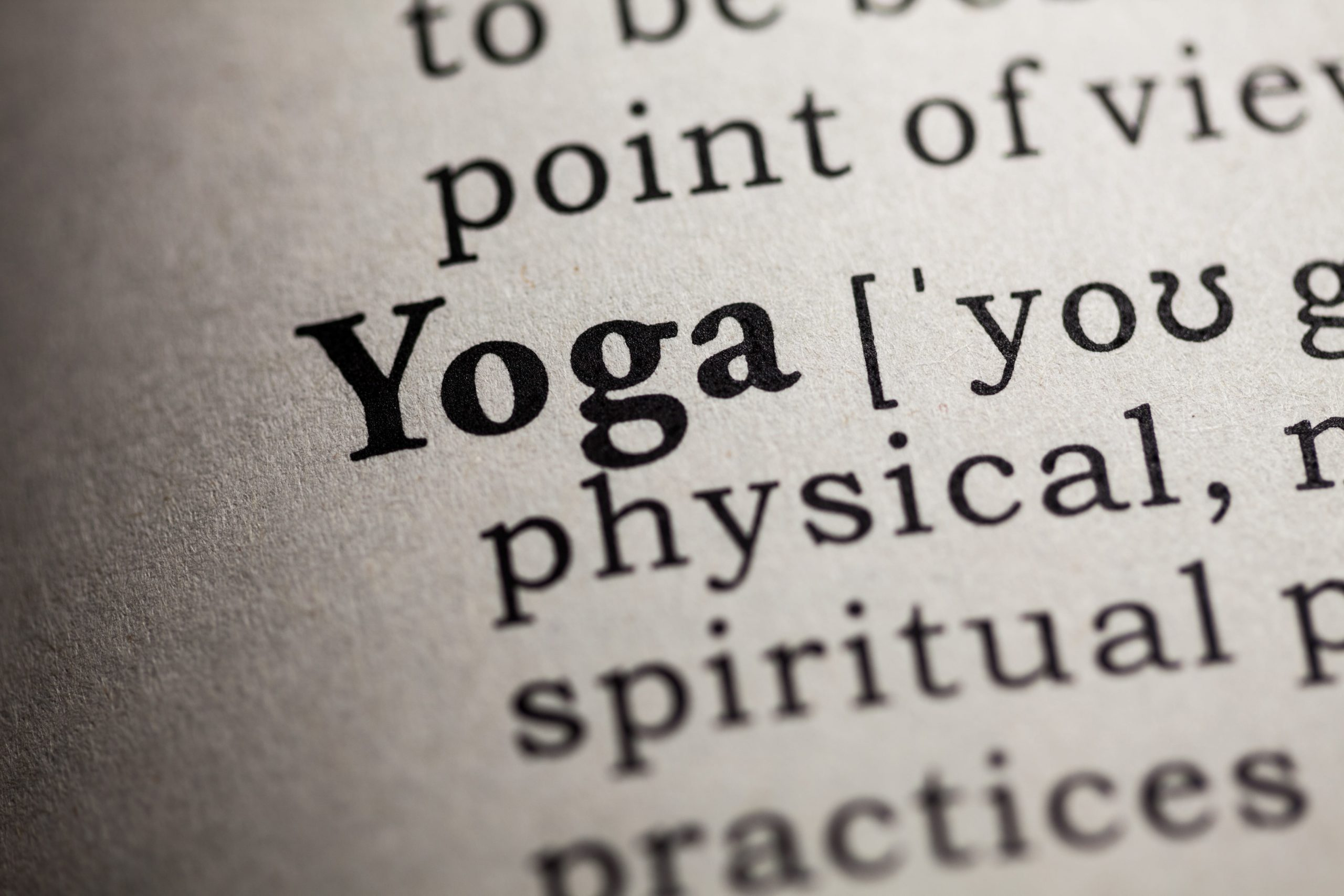 Yoga Diction